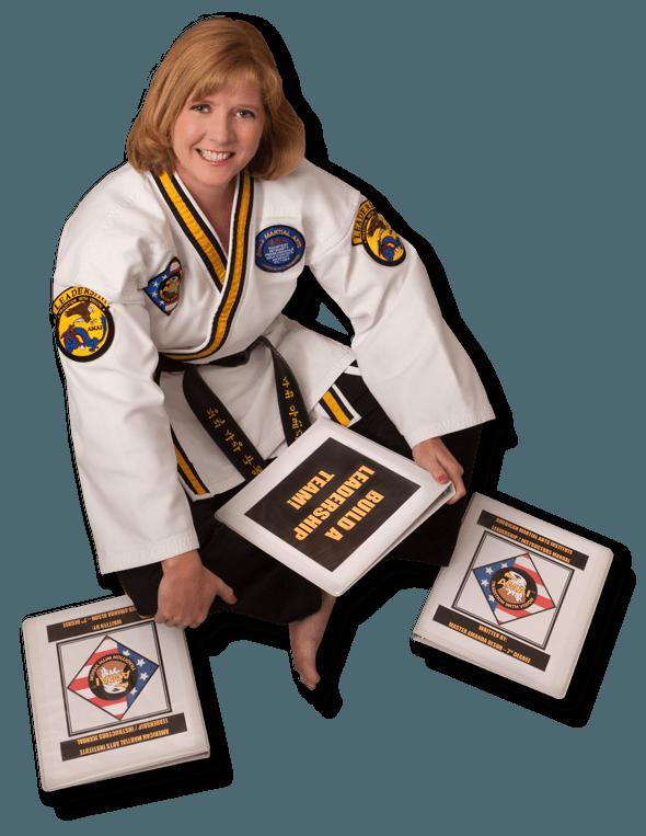 Master Amanda Olsen sitting