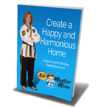 Create a Happy and Harmonious Home Book graphic